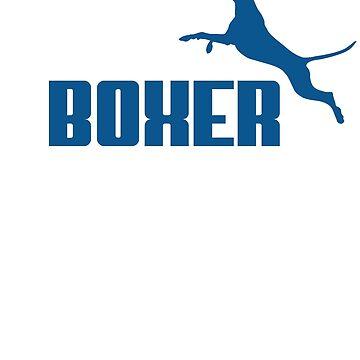 Boxer (blue) by orono