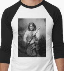 Geronimo 01 Baseballshirt für Männer