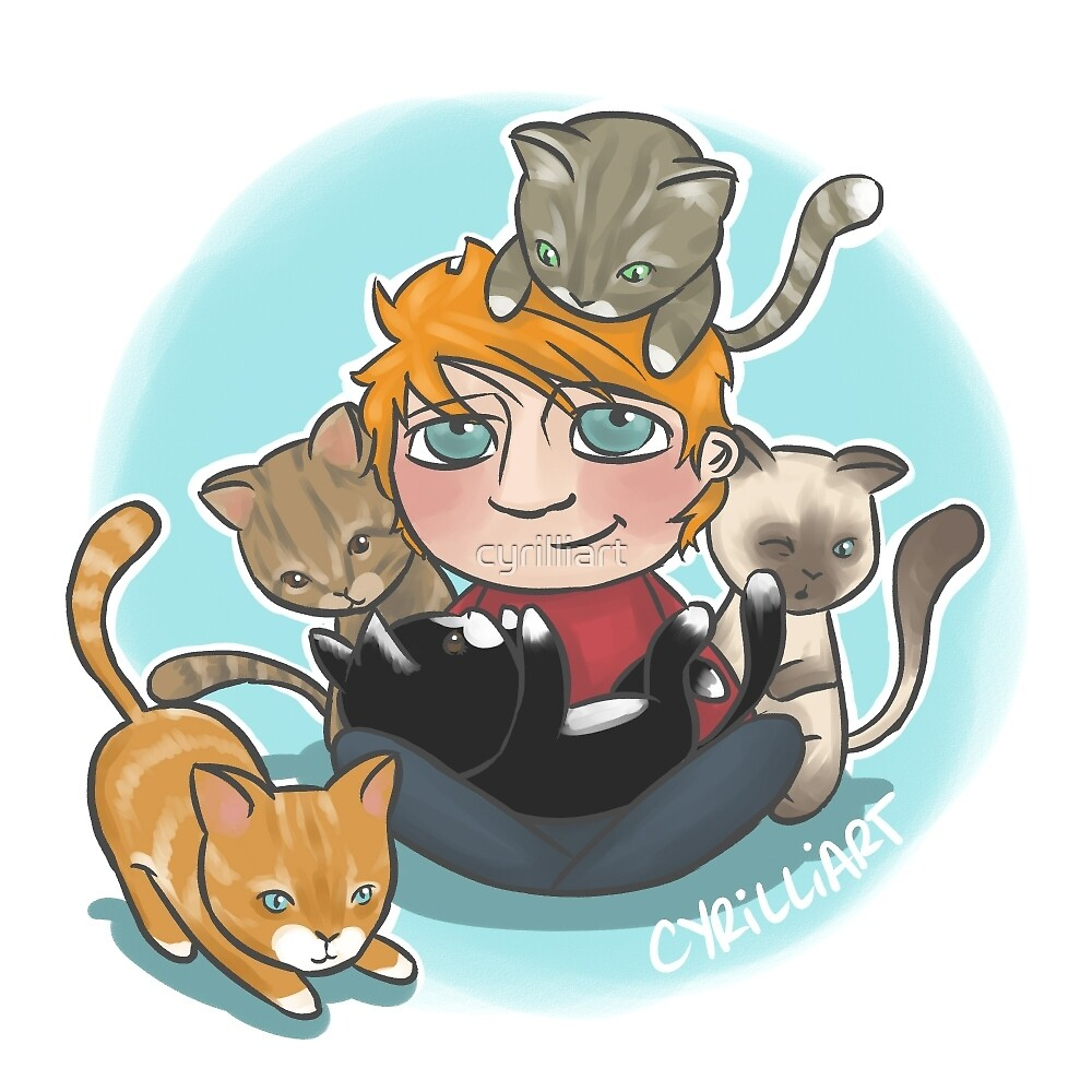 Ed Cats by cyrilliart