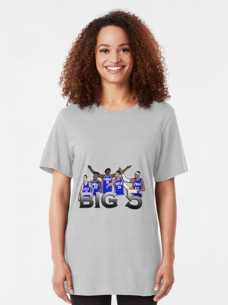 Alternate view of The Big 5 76er's Team Slim Fit T-Shirt