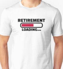Retirement loading Unisex T-Shirt