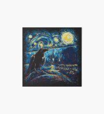 Starry Night's Watch Art Board