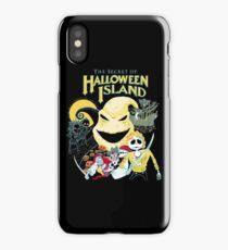 The Secret of Halloween Island iPhone Case