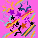 PINK STAR by coolteeclothing