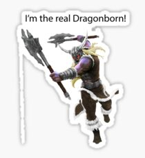 Olaf The DragonBorn Sticker
