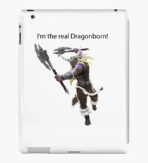 Olaf The DragonBorn iPad Case/Skin
