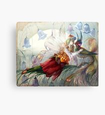 The Realms of Fairydom - John Anster Fitzgerald  Metal Print