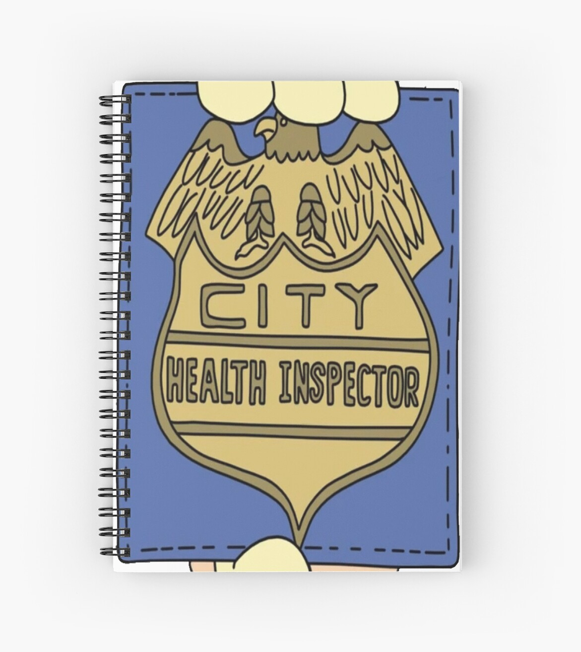 City Health Inspector - Bobs Burgers by dragonhugs