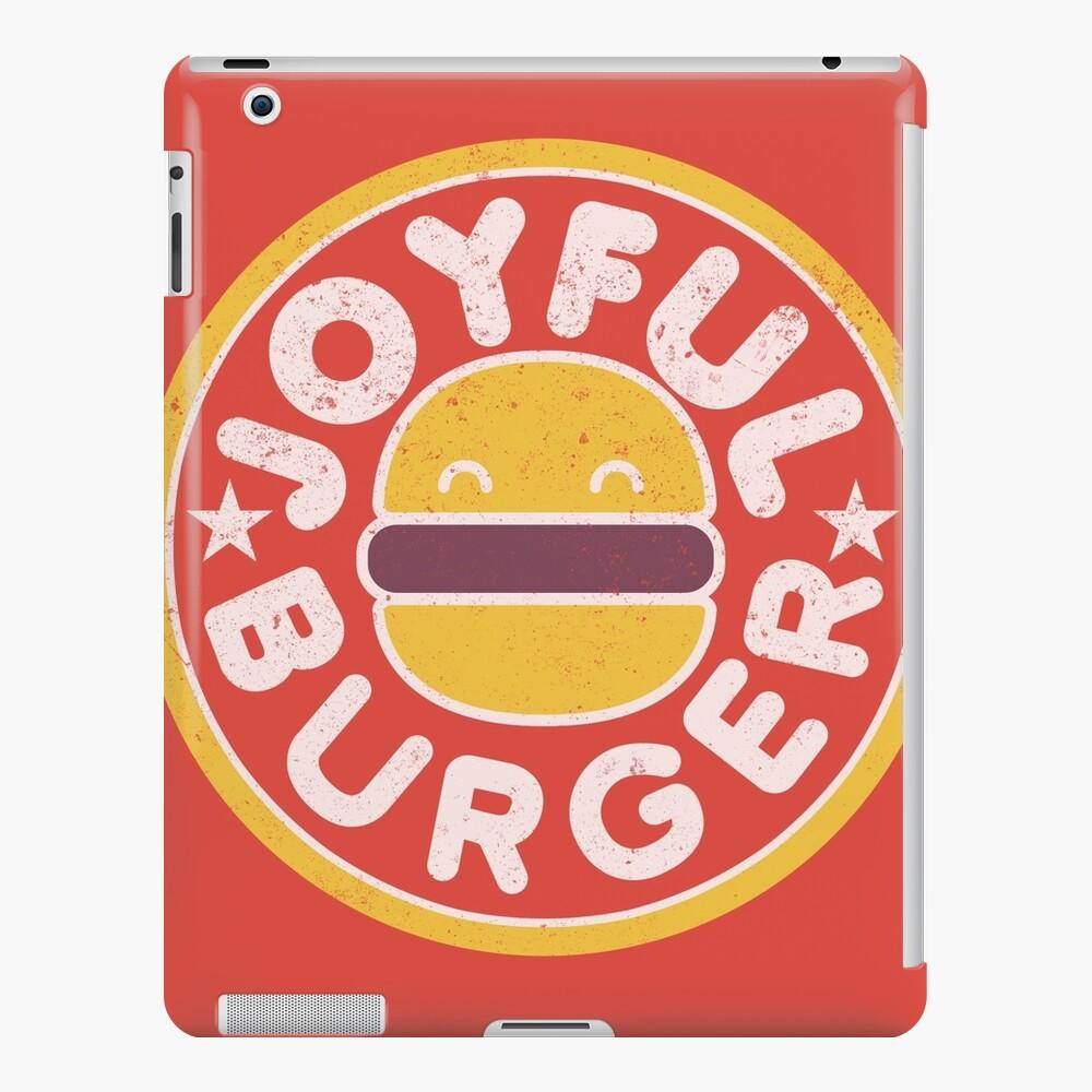 Joyful Burger iPad Case & Skin