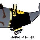 «whalie stargell» de paintbydumbers