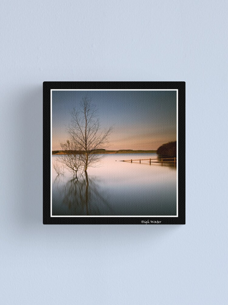 Alternate view of High Water Canvas Print