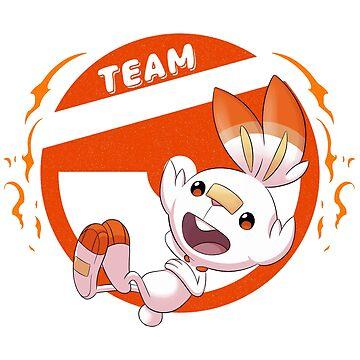 Team Scorbunny by TeeKetch