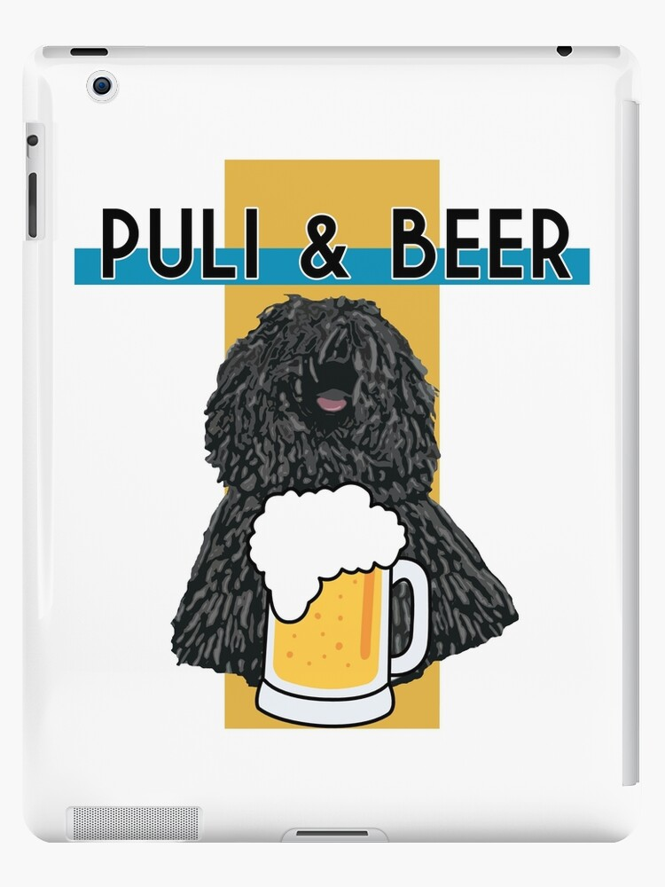 'Puli and Beer' iPad Case/Skin by PotatoGear