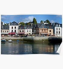 Port of St Goustan  - Brittany, France Poster