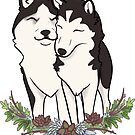 Love, Huskies, and Succulents  by Ashley Siemon