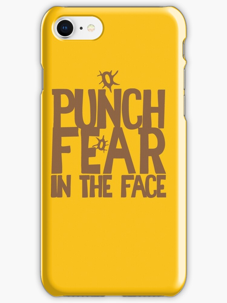 PUNCH FEAR IN THE FACE by jazzydevil
