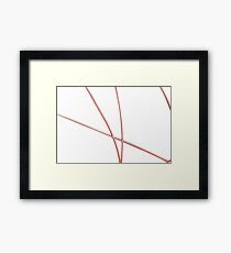 Computer generated abstract Framed Print