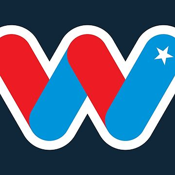 Wild Superhero Letter W by DOODL