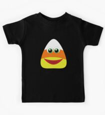 Happy cute candy corn for halloween Kids Clothes