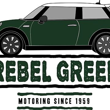 F56 Mini Team Rebel Green by Wildharegrafix