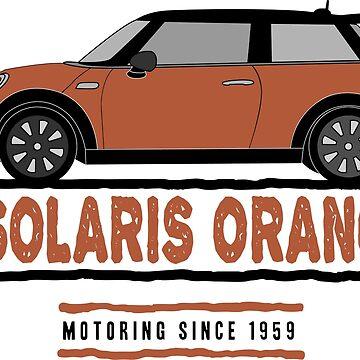 F56 Mini Team Solaris Orange by Wildharegrafix