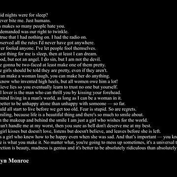 Marilyn Monroe Quotes by qqqueiru