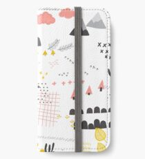 Scandinavian landscape iPhone Wallet/Case/Skin