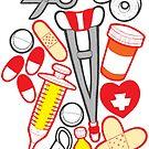 Menhera Dark - Medical Supplies by Penelope Barbalios