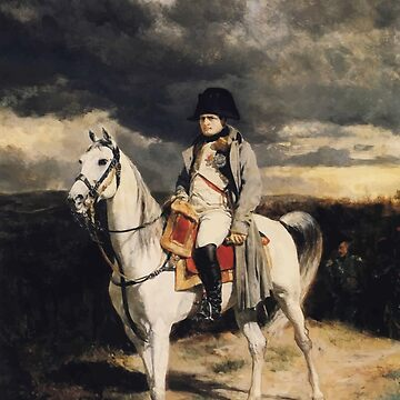 Napoleon Bonaparte zu Pferd von warishellstore