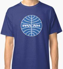 Camiseta clásica Etiqueta engomada de la etiqueta engomada de la camisa