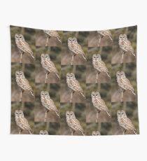 Barred Owl - Brighton, Ontario Wall Tapestry