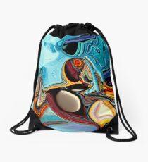 Fish Eye Drawstring Bag