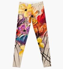 Colorful Flowers Leggings