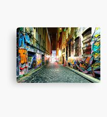 Street Gallery Canvas Print