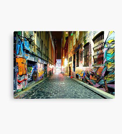 Street Gallery Canvas Print
