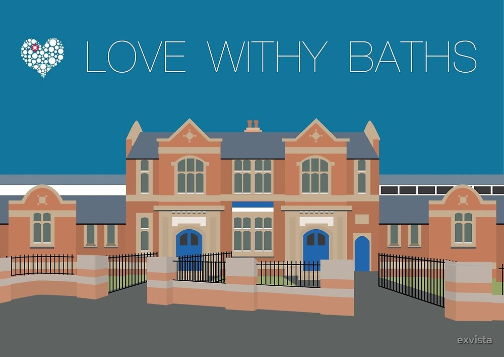 Love Withy Baths (landscape) by exvista