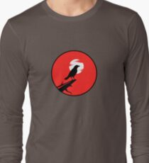 The Crow (red sky) Long Sleeve T-Shirt