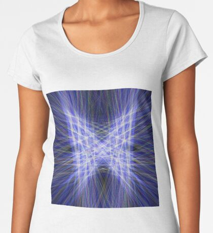 Laser Butterfly Premium Scoop T-Shirt