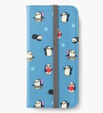 Gunter Pattern (Blue) iPhone Wallet/Case/Skin