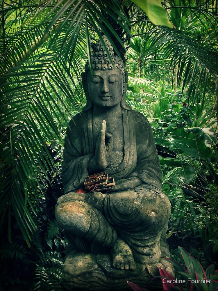 Bali Buddha by Caroline Fournier
