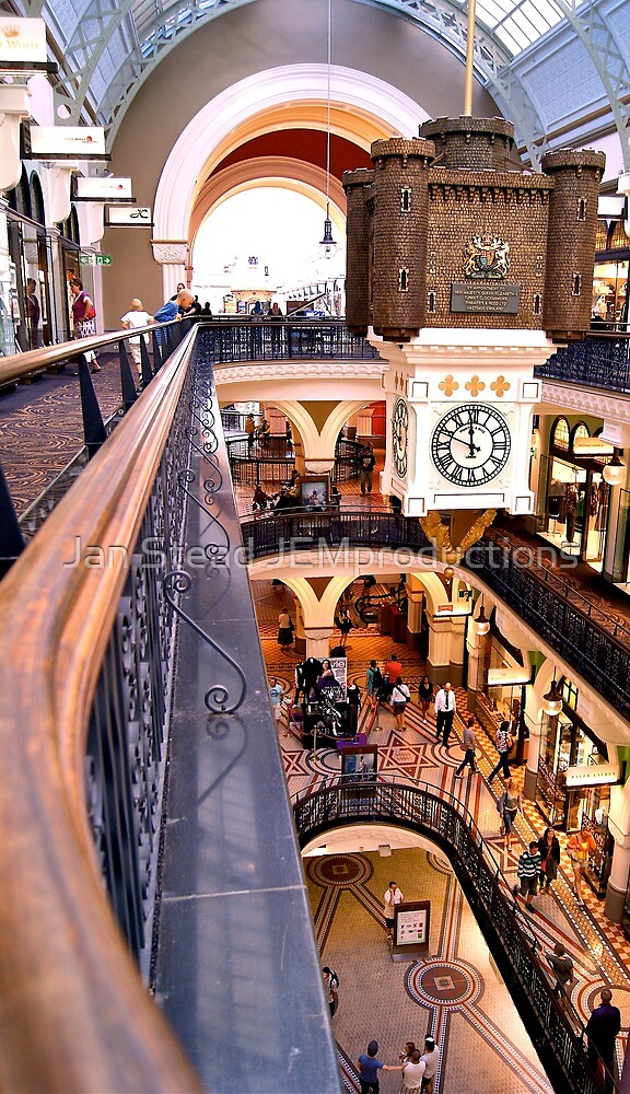 top down ~ QVB by Jan Stead JEMproductions