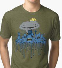 melting City Tri-blend T-Shirt