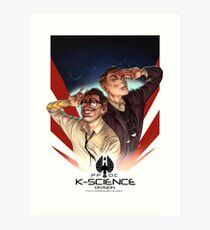 K-Science Art Print