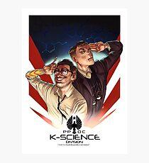 K-Science Photographic Print