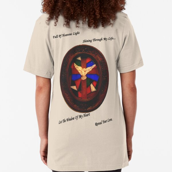 Stained Glass Window Slim Fit T-Shirt