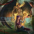 Secrets w/Cover Name Laptop Sleeve Only by Shannon Pemrick