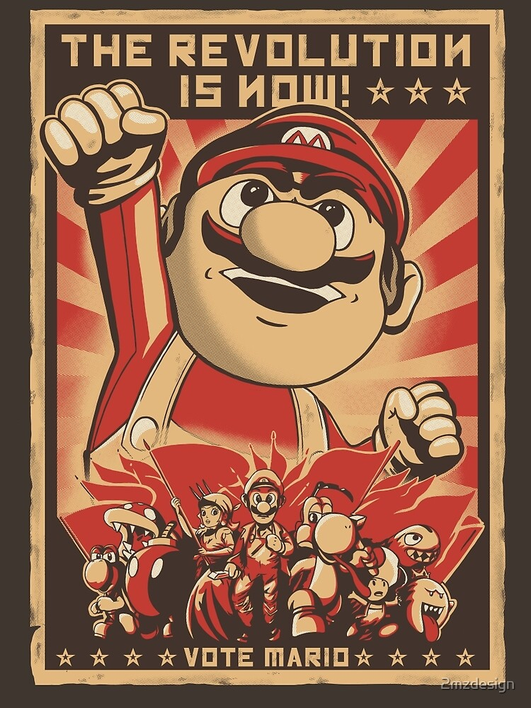 Vote Mario by 2mzdesign