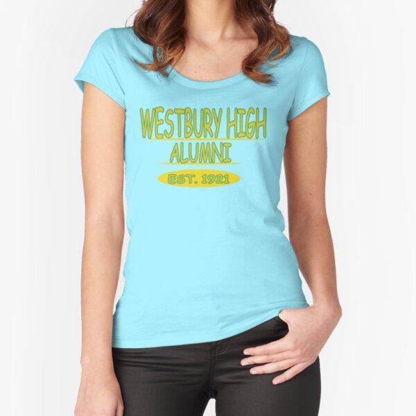 WESTBURY HIGH -ALUMNI Fitted Scoop T-Shirt