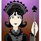 Queen of Clubs by elledeegee