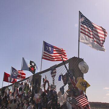 America's Flags of Heroism by elisab